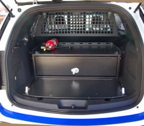 Single FORD Storage drawer with power coating