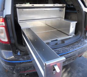 Installed FORD Weapon Combo Drawer