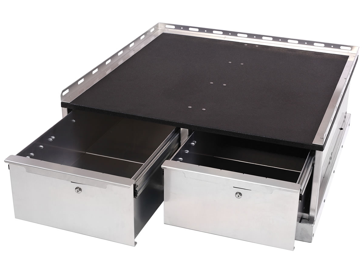 Weapon Box For Chevy Tahoe Dual Drawer Ops Public Safety