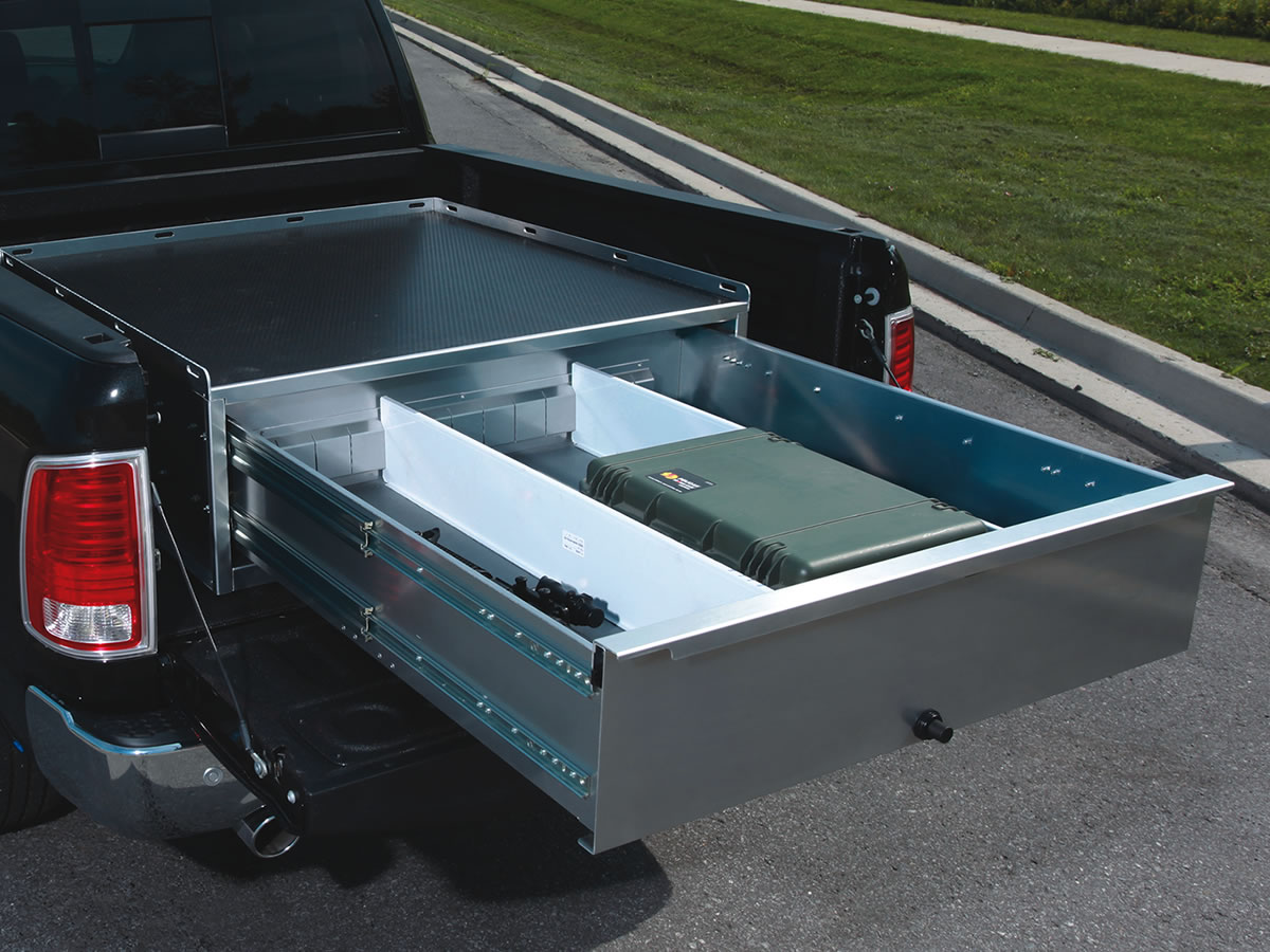 how install to bed system drawers storage drawer truck a pin pickup