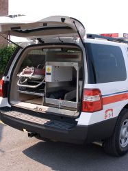EMS command (SUV) drawers
