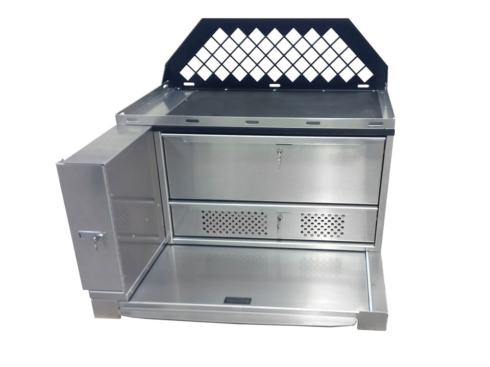 Combo Radio Drawer Unit Front