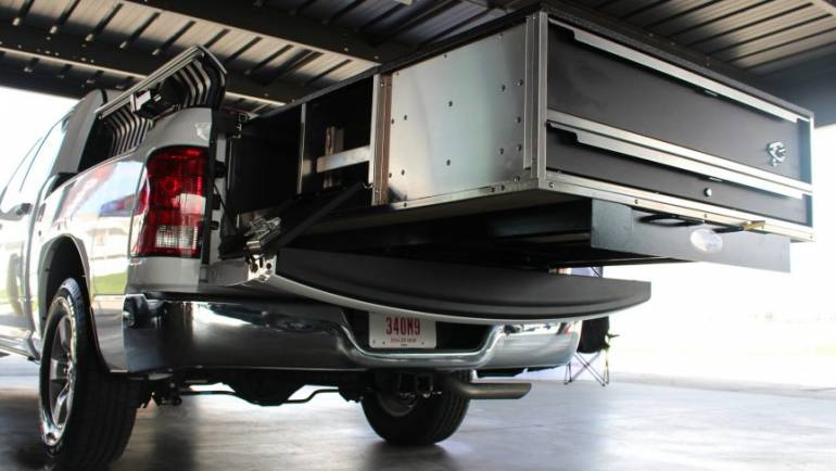 OPS Public Safety Introduces MAXX Slide Series – Roll-out System for Vans, SUVs and Pickup Trucks