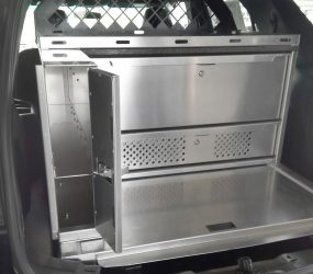 Installed Combo Radio Drawer