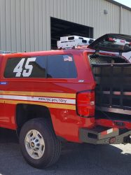Custom rollout truck unit