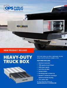 OPS Public Safety Truck Box Flyer