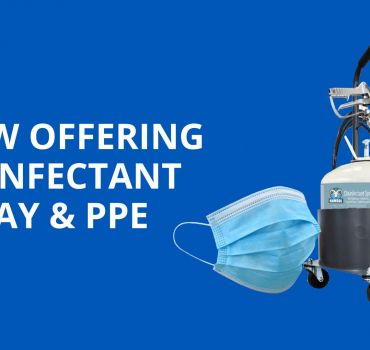 Ready For Quick Ship: Disinfectant Spray & PPE